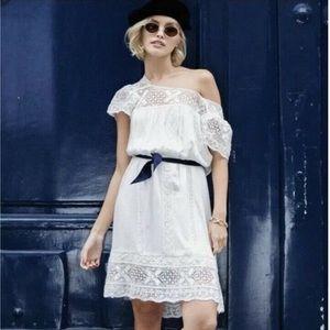 Spell Sunday Feels Mini Dress in White